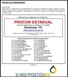 Adesivo Procon