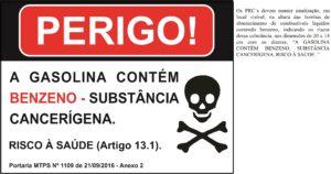 Gasolina Contém Benzeno - 20x14 2
